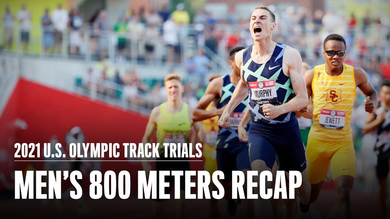 Download Clayton Murphy Wins Men's 800 Meters   U.S. 2021 Olympic Trials   Runner's World