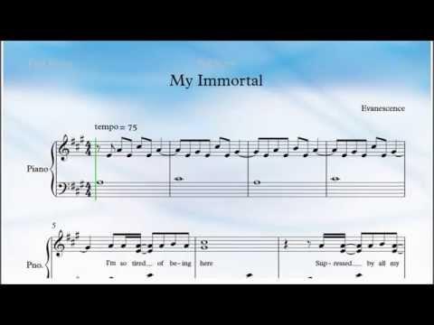 My Immortal Piano
