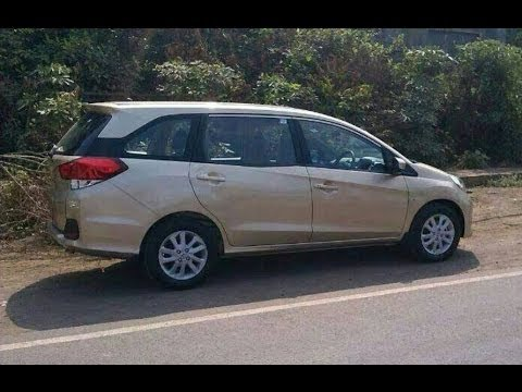Honda Mobilio Diesel Mpv Spotted For First Time In India Youtube