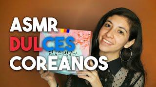ASMR En Español - Comiendo Dulces Coreanos 🇰🇷