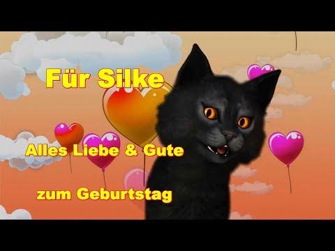 Silke ❤️ Zum Geburtstag Alles Liebe & Gute ❤️ Happy Birthday to You ❤️ FaceRig Katze deutsch german