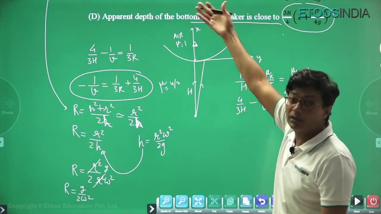 JEE Advanced 2020 Paper Solution | Physics (Paper - 2) | Muqeem Khan (MK) Sir | ETOOSINDIA