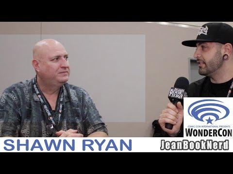 SHAWN RYAN Interview - TIMELESS - WONDERCON 2018 - JeanBookNerd