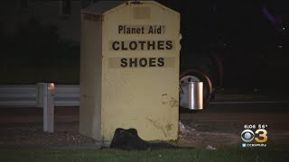 Man Injured By Explosion Near Donation Box