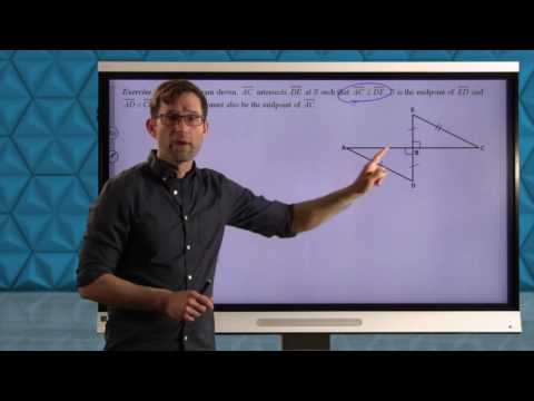 Common Core Geometry.Unit #3.Lesson #9.Hypotenuse Leg