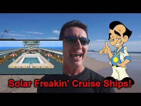 eevBLAB #57 - Solar Freakin' Cruise Ships! & Critical Thinking