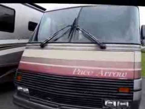 hqdefault 1988 fleetwood pace arrow 30r class a motorhome 12458 youtube Monaco Diplomat Wiring-Diagram at mifinder.co