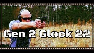 Generation 2 (Gen 2) Glock 22 40 S&W LE Trade-In Review (HD)