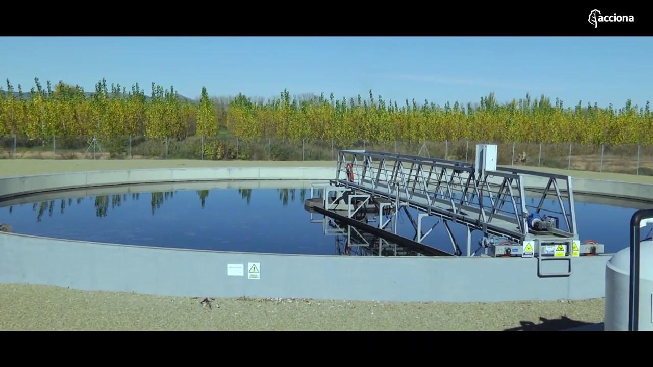 La Estación Depuradora de Aguas Residuales La Almunia | ACCIONA