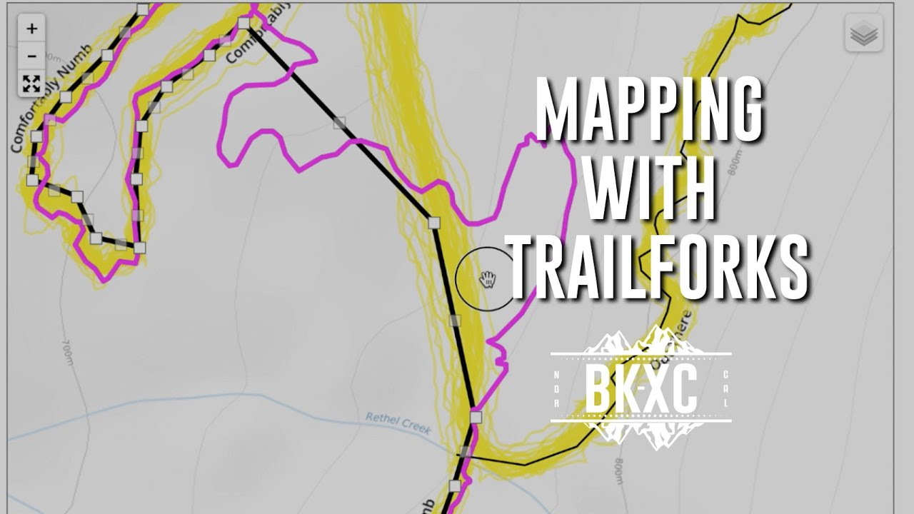 Adding and editing trails in Trailforks