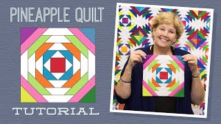 Make a Pineapple Quilt with Jenny Doan of Missouri Star! (Video Tutorial)