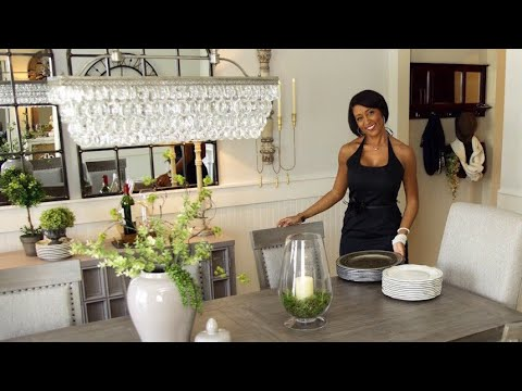 Fall Tablescape & Dining Room Makeover with American Signature Furniture