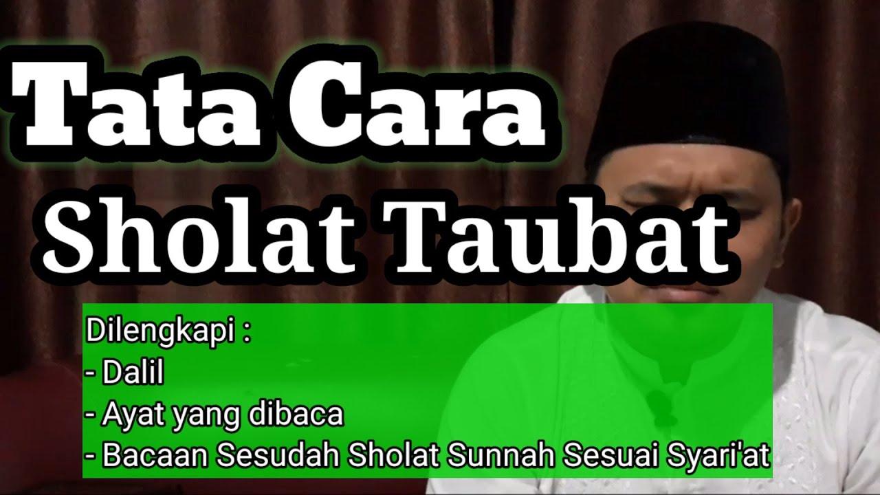 Tata Cara Sholat Taubat Nasuha Yang Benar Sesuai Sunnah ...