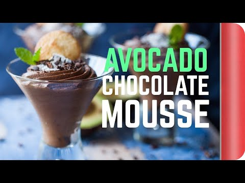 Avocado Chocolate Mousse Recipe #spon