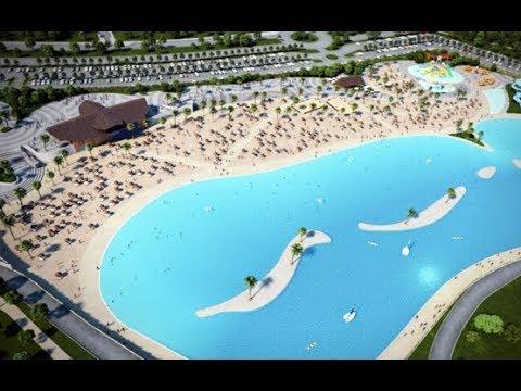 La sequía azota la zona donde se instalará la playa artificial más grande de Europa