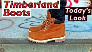 Today's Look - Timberland 6 Inch Premium Boots In