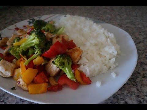 recette:-poulet-aux-poivrons,-brocolis-et-piment