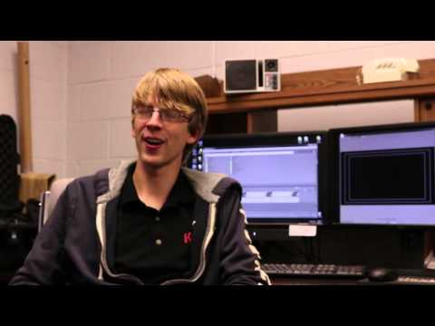 Broadcasting students at Northeast Community College