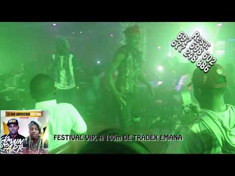 DJ GERARD BEN AU FESTIVAL VIP BAR AMERICAIN D'EMANA