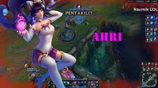 Ahri Montage #7 - Ahri 1v5 Pentakill - Best Ahri Plays Compilation[Razmik LOL]