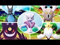Pokémon Let's Go Pikachu & Eevee - All Mega Evolutions + Moves