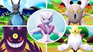 Download Pokémon Let's Go Pikachu & Eevee - All Mega Evolutions + Moves Mp3 and Videos