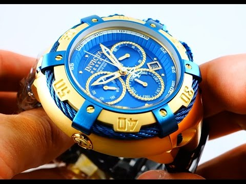 Invicta Bolt Chronograph 21354 Gold Plates Men's Watch