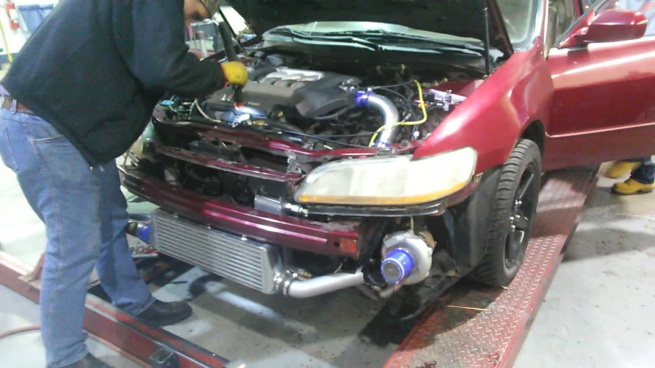 Turbo V6 J Series J30a1 Honda Accord 2001 Youtube