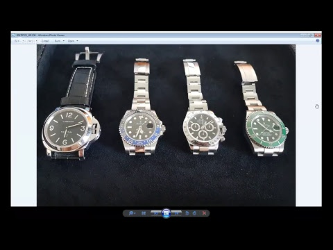 PAID WATCH REVIEWS WITH CLYVE - Singapore wealthy guy loves Rolex and Pam