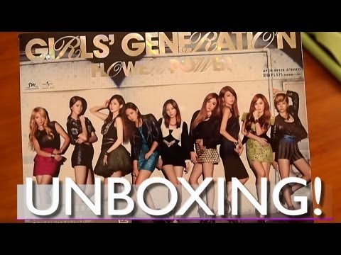 Unboxing - FLOWER POWER + Giveaway! (SNSD)