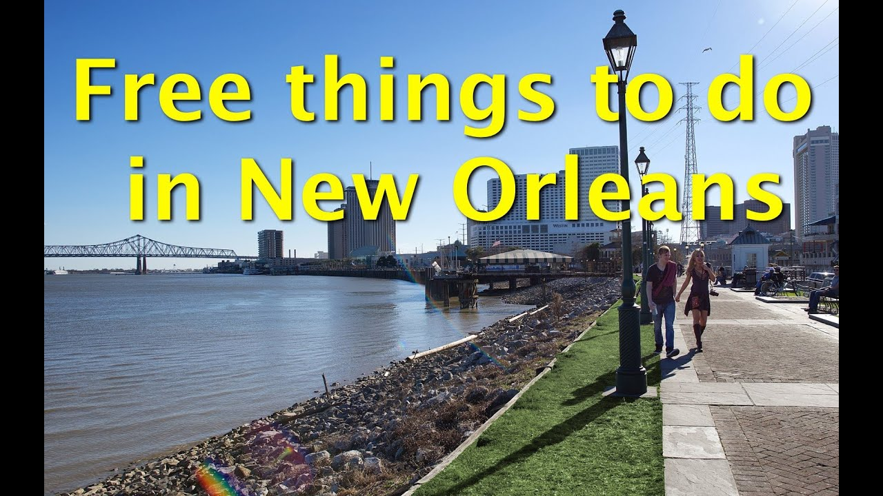 Free things to do in new orleans take a stroll on the for Things not to miss in new orleans