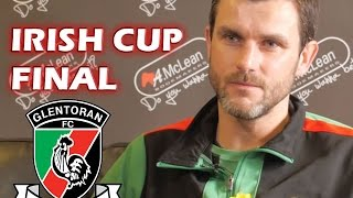 Glentoran v Portadown Irish Cup Final ~ Elliot Morris Interview