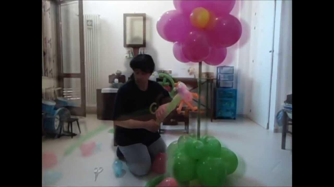 Amato Tutorial di composizione palloncini - YouTube MU93