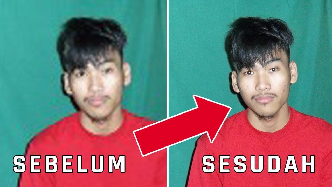 Cara Memperbaiki Foto Blur Atau Buram Di Photoshop Kualitas Buriq Jadi Hd Teknodaimtutorial Youtube