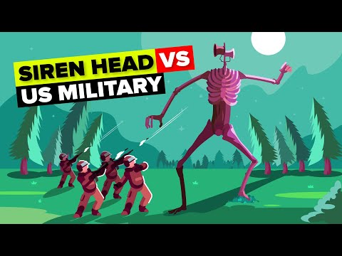 Siren Head Vs The US Military (Delta Force) - Who Would Win?