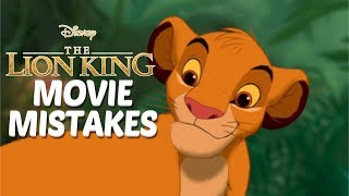 10 Biggest The Lion King MOVIE MISTAKES You Totally Missed | The Lion King Goofs & Fails