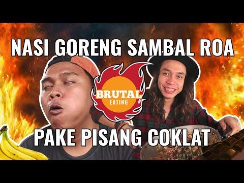 ANEH!!! NASI GORENG PEDAS PAKAI PISANG COKLAT | GERRY GIRIANZA ft. BLACK (B.M BOIS)
