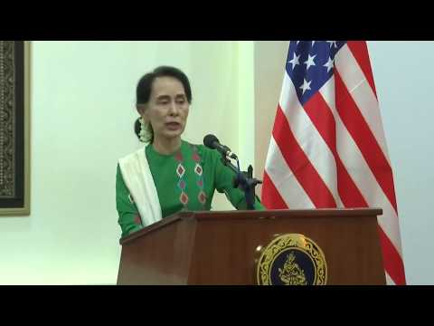 Secretary Rex Tillerson Joint Press Availability with Burmese State Counsellor Aung San Suu Kyi