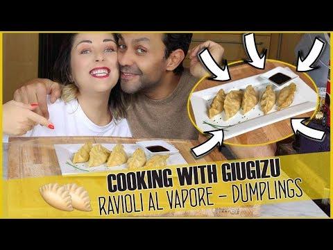 Ravioli di gamberi al vapore – Prawn dumplings | Cooking with Giugizu