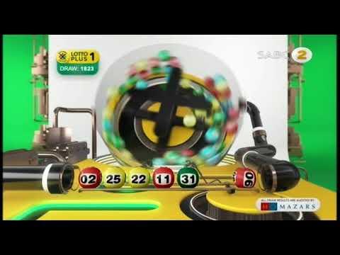 Lotto, Lotto Plus 1 And Lotto Plus 2 Draw 1823 (16 June 2018) - YouTube
