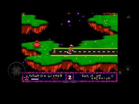 [60 FPS] MD.emu Emulator 1.5.11 For Android   ToeJam & Earl [720p HD]   Sega Genesis