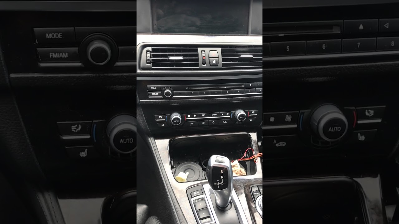 2011 Or Newer Bmw With Joystick Transmission Out Of Park