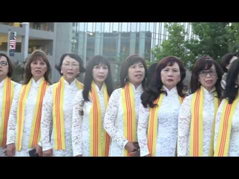 Đại Hội Cựu SVSQ:TVBQGVN : Toàn cầu tại Westminster California  Lễ Truy điệu tại Tươ
