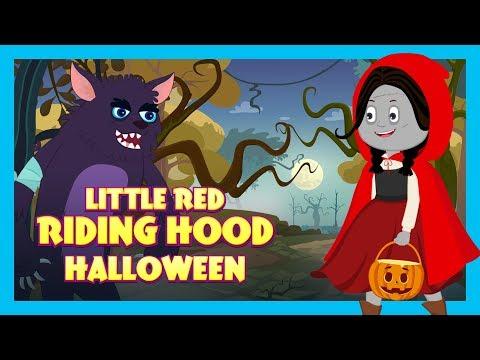 HALLOWEEN STORIES- LITTLE RED RIDING HOOD   Little Red Riding Hood - Halloween  Kids Hut Stories
