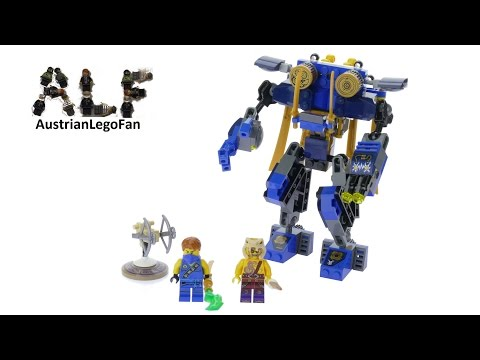 Lego Ninjago 70754 Jay's ElektroMech - Lego Speed Build Review