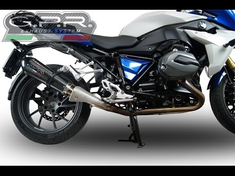 bmw r 1200 rs lc 2015 gpr exhaust system sound scarico gpr bmw r 1200 rs suono youtube. Black Bedroom Furniture Sets. Home Design Ideas