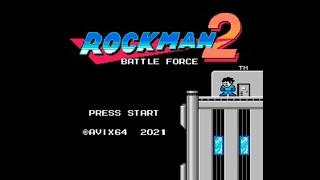 Mega Man Hack Longplay - Rockman 2: Battle Force