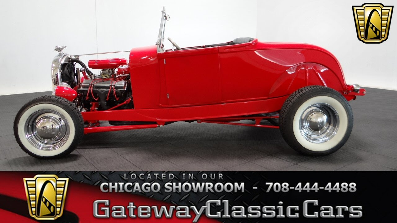 1928 Ford Model A Gateway Classic Cars Chicago #1024 - YouTube