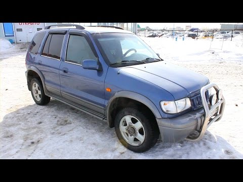 2004 Kia Sportage. Start Up, Engine, and In Depth Tour.