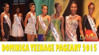 Dominica 2015 Teenage Pageant Contestant